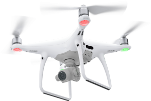 Phantom 4 Pro Drone for Aerial Cinematography and Aerial Photography.
